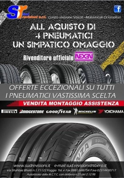 Promozioni-Preventivo-sostituzione-gomme-Foggia-Sud-Revisioni